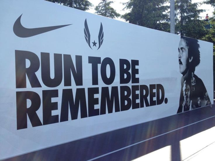 RUN TI BE REMEMBERED - Steve Prefontaine