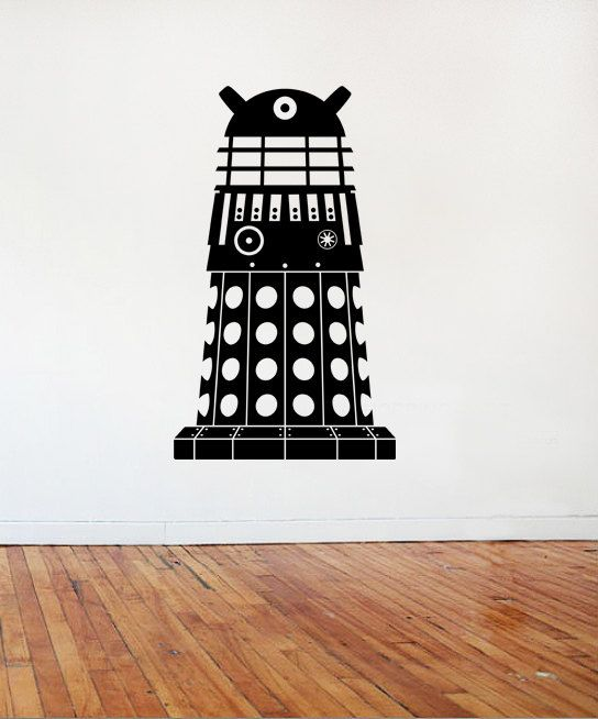 Dalek Doctor Who Wall Art / Vinyl / Graphic   Multiple Sizes U0026 Colours Part 41