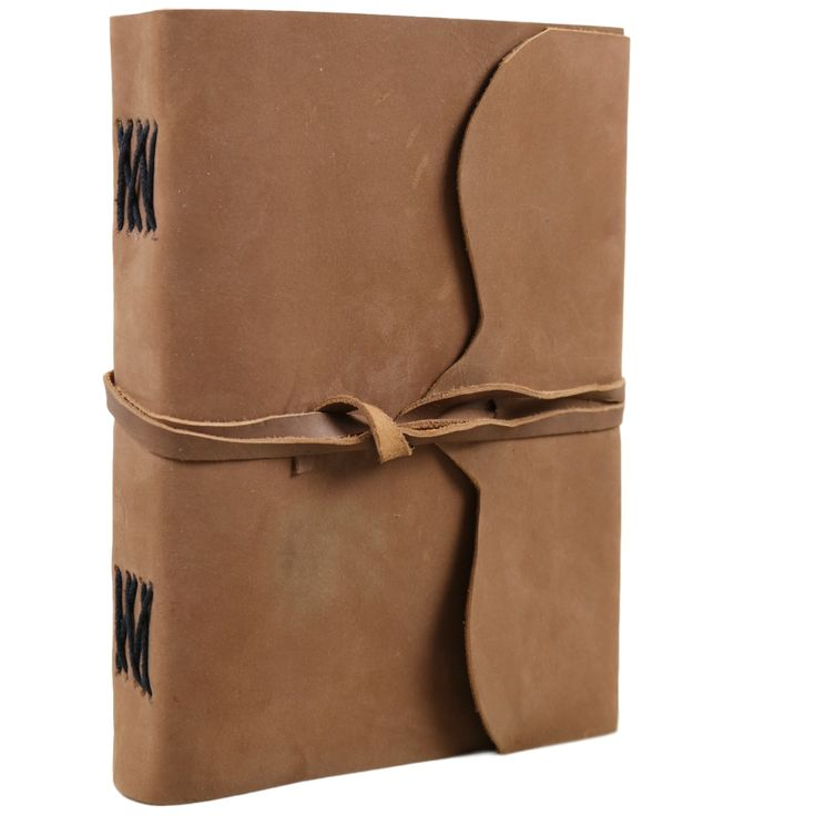 Tan Suede Leather Journal