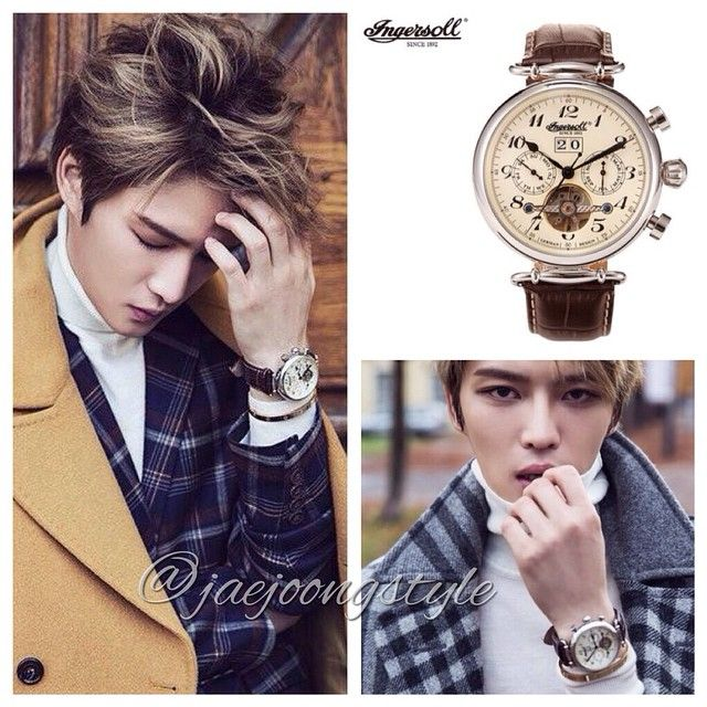 JJ wearing an #Ingersoll Walldorf IN1312CR #watch. Credit: crystalmoon64, #BNTInternational, EURO-time blog on Naver. (note: Jae actually wore 3 Ingersoll styles for BNT #photoshoot.) #Jaejoong #김재중 #classic #stylish #menswatch @ingersoll_watches @ingersollwatchesusa