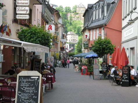 Restaurants and Cafes in St. Goar Germany