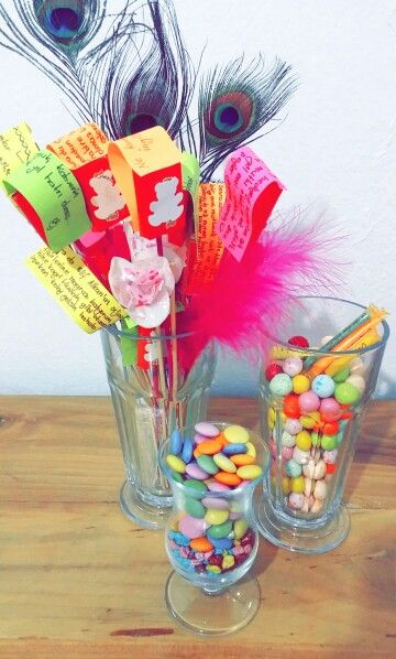Good wishes ^^ #chocolate #candy #colours