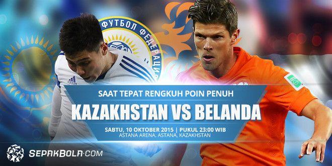 คาซัคสถาน VS ฮอลแลนด์ อัพเดทเรื่องทั่วไปกับ 1000TIPsIT ถ่ายทอดสด ฟุตบอลยูโร 2016 รอบคัดเลือก ระหว่าง Kazakhstan vs Holland วันที่ 10 ต