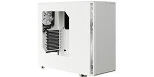 Fractal Design Define R4 ATX Mid Tower Window Case White 2X5.25 1X3.5 8X3.5INT 2X2.5SSD No PSU
