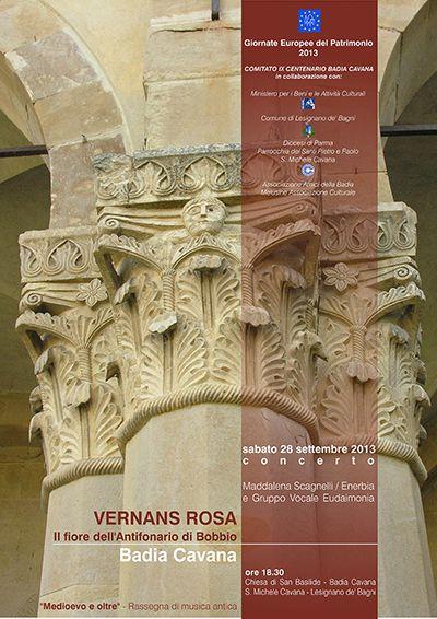 VERNANS ROSA: il fiore dell'Antifonario di Bobbio