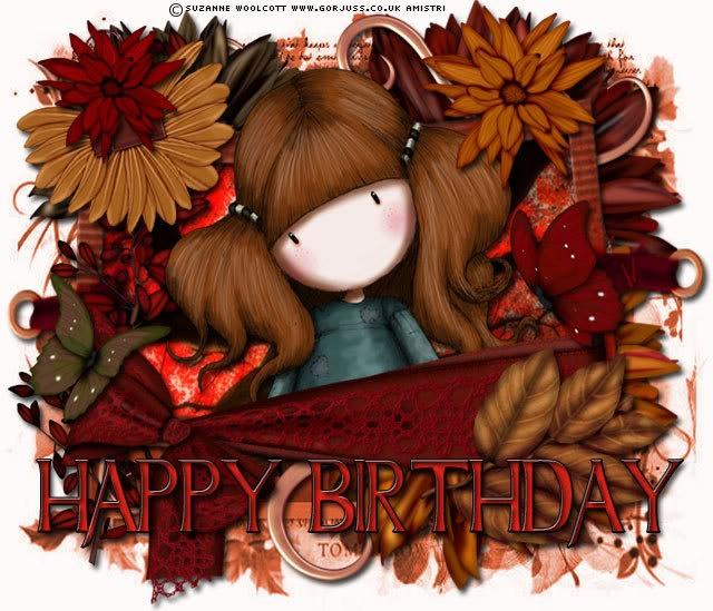 Happy Birthday Artwork Suzanne Woolcott Tagged By Stevie