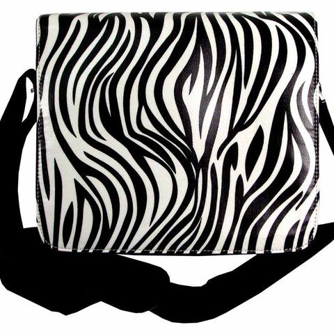 Zebra Print Compact Tech Bag – Ask Alice by All Gifts Online