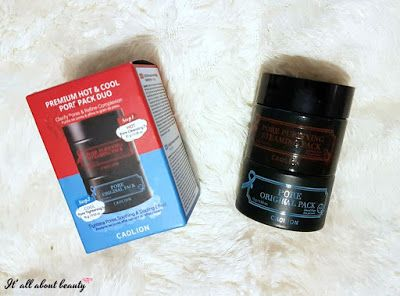 Caolion - Premium hot&cool pore pack duo Click here for the review!: https://itsallaboutbeauty089.blogspot.gr/2017/09/caolion-premium-hot-pore-pack-duo.html