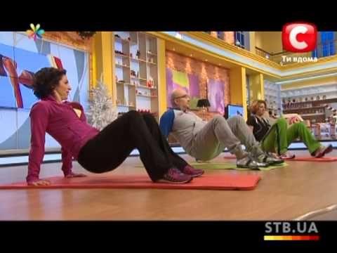Фитнес за 60 секунд с Анитой Луценко. Три удивительных комплекса!!!!!! - YouTube