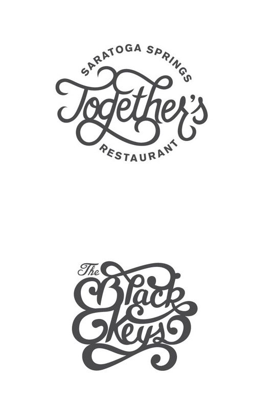 Logo Designs by Brendan Prince (the Black Keys are from Akron, Ohio!!!)