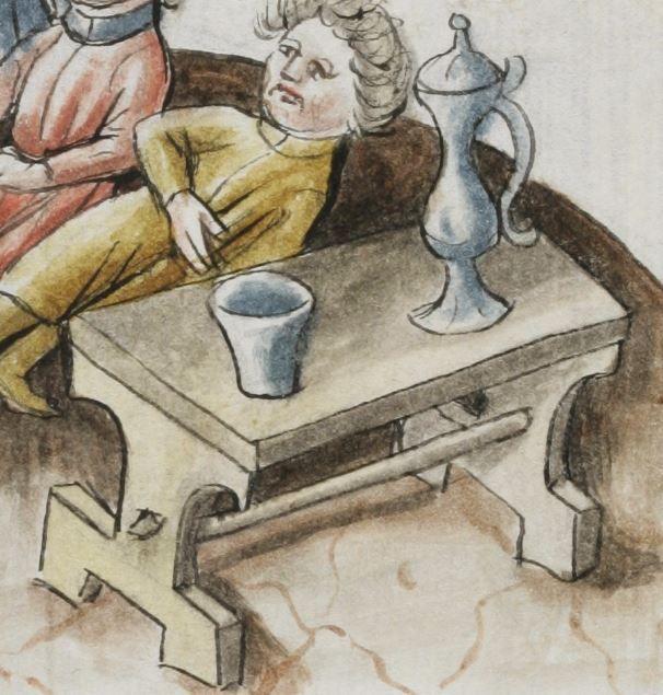 Hugo von Trimberg: Der Renner · Johann Hartlieb: Alexanderroman Südtirol (Kartause Allerengelberg?) · 1468 Cod. Bodmer 91   Folio 18r