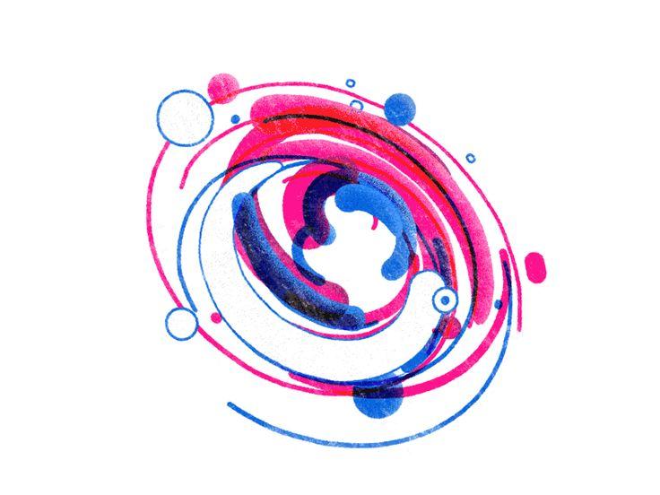 Flickr Logo Animation by YaroFlasher