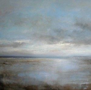 Reflections - Hayle Towans Amanda Hoskin Mid Cornwall Galleries