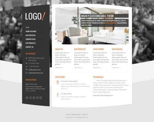 RT-Theme 15 Responsive Real Estate WordPress Theme