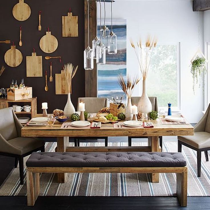 169 Wooden Dining Room Table Design Ideas Part 72