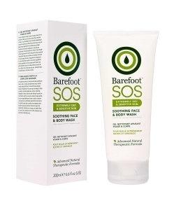 Barefoot Botanicals SOS Καταπραϋντικό Καθαριστικό για το Πρόσωπο και το Σώμα