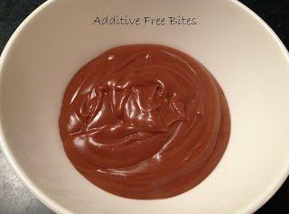 Additive Free Bites: Chocolate Coconut Custard...replace corn flour with coconut flour?