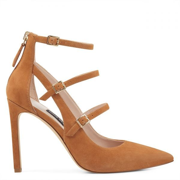 ab2e03e1318 Tepinza Strappy Pointy Toe Pumps | Nine West Shoes for Women | Nine ...