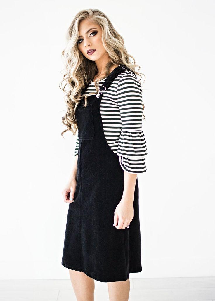 Spade Overalls Dress