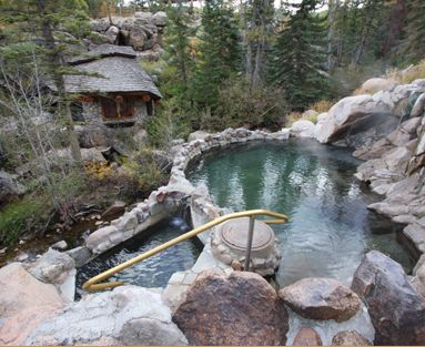 Strawberry Park Hot Springs - Steamboat Springs, CO ... I want to go back! We went here last year when we went to colorado for New Years!!!! So beautiful!