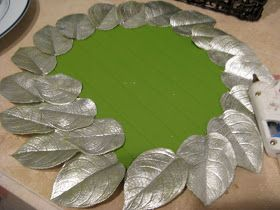 Making Lemonade: Pottery Barn Plate Chargers Knock-Off