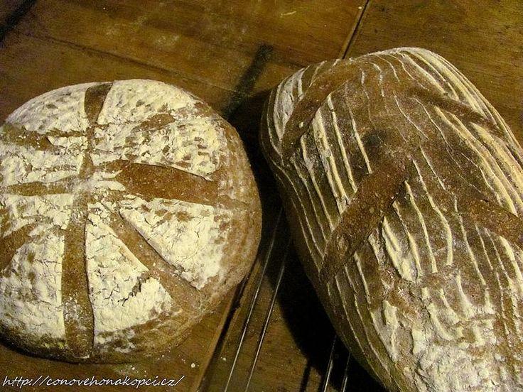 domácí chleba VIDEO