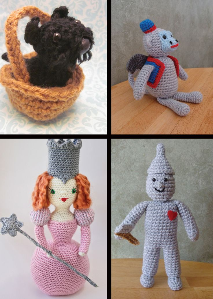 Crochet Patterns Kits : Crochet Kits: FROZEN and Princesses Amigurumi Patterns Crochet Kits ...