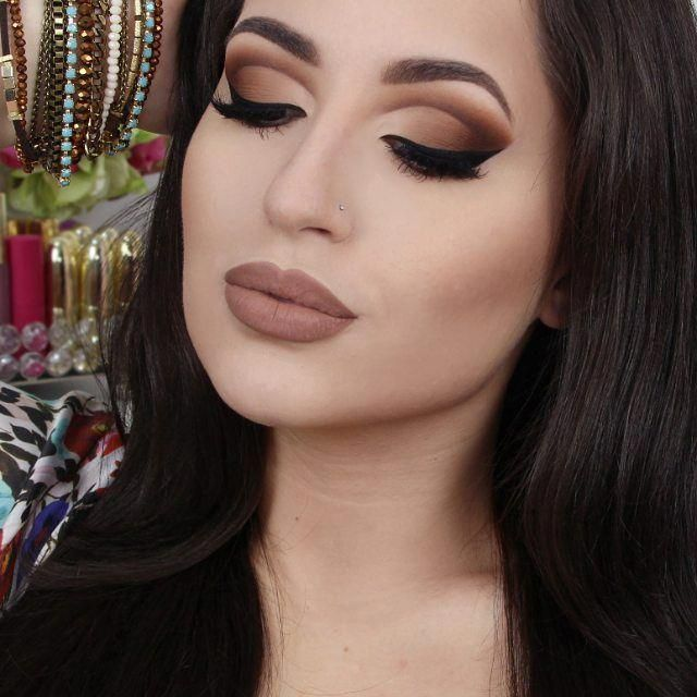 Hey Loves! Chocolate Cut Crease Makeup New TUTORIAL in my