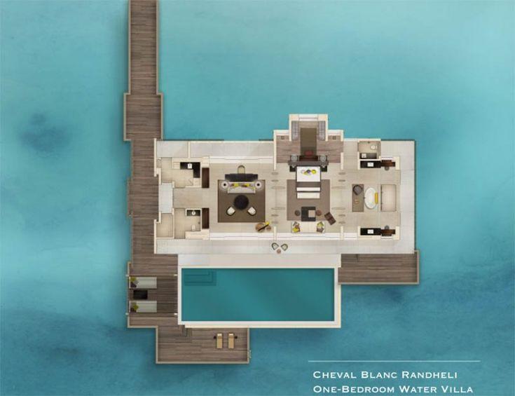 Water Villa   Мальдивы   MITS   Отдых как произведение искусства