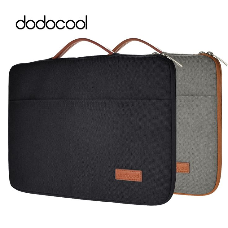"""dodocool 13 Inch Laptop Bag for Macbook 13 Case Nylon Zipper Sleeve Carrying Case Notebook Protective Cover for 13"""" MacBook Pro"""