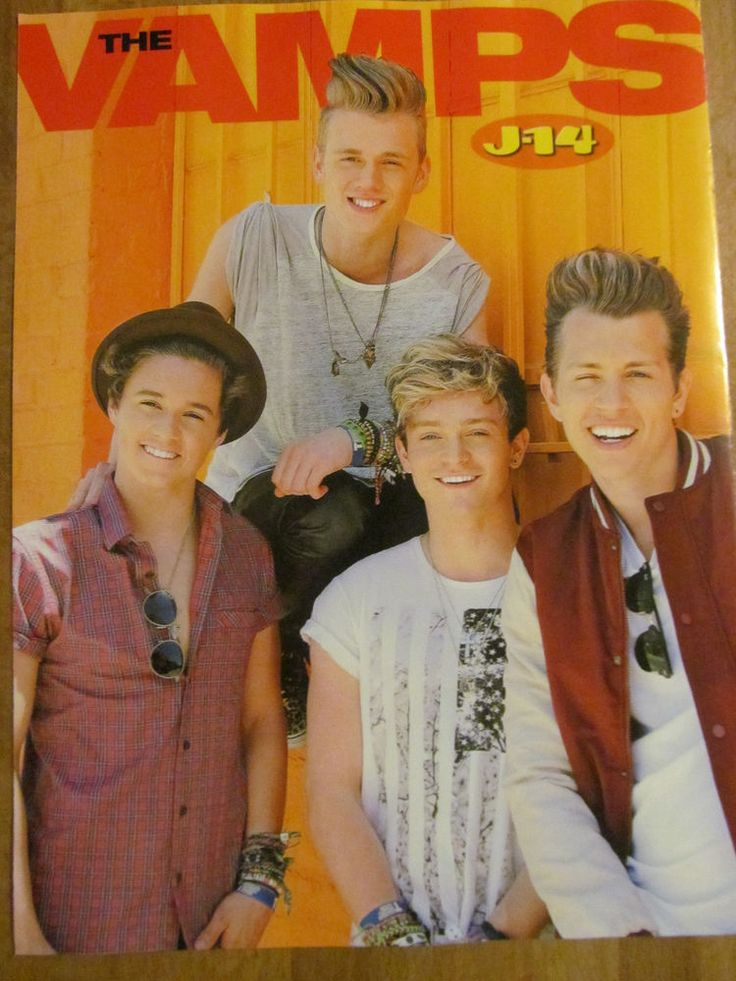 The Vamps, Niall Horan, One Direction, Double Full Page Pinup