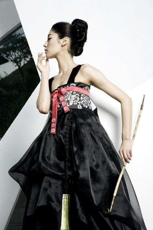 #black #hanbok #korea