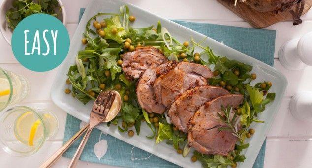 No Aussie can knock back a good Roast Lamb! Try this tender tomato pesto variation.  #dinner #familyfavourite #recipe