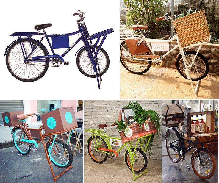 Food bikes para inspiração modelo cargueira