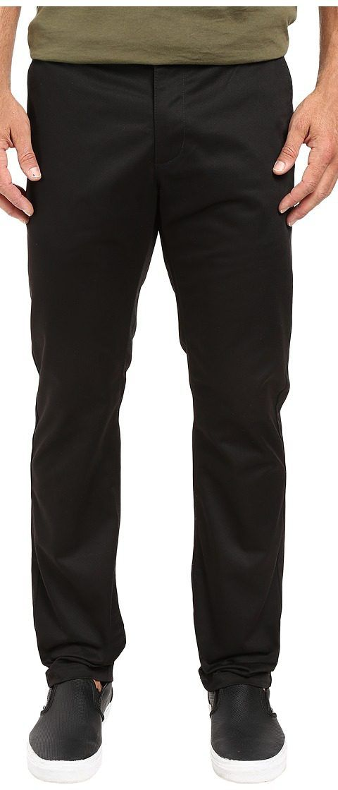 RVCA The Week-End Pant (Black) Men's Casual Pants - RVCA, The Week-End Pant, M3307WEP-BLK, Apparel Bottom Casual Pants, Casual Pants, Bottom, Apparel, Clothes Clothing, Gift, - Street Fashion And Style Ideas