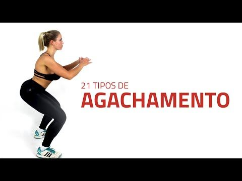 21 Tipos de Agachamento Para Definir Coxas e Glúteos   Sérgio Bertoluci - X21 - YouTube