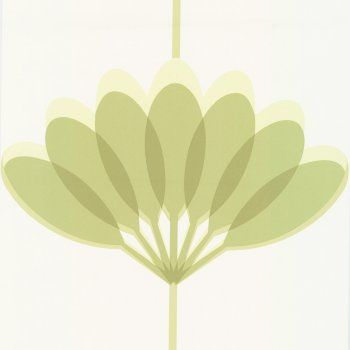 Caselio Kira Wallpaper Green / White  code:54607110 £19.96 (Delivery from £5.95 )