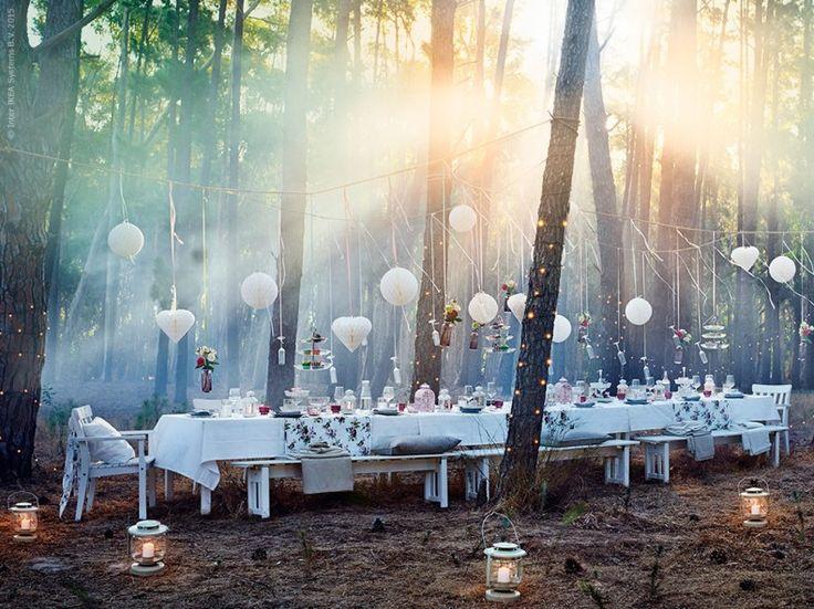 Drömsk feststämning | Livet Hemma – IKEA