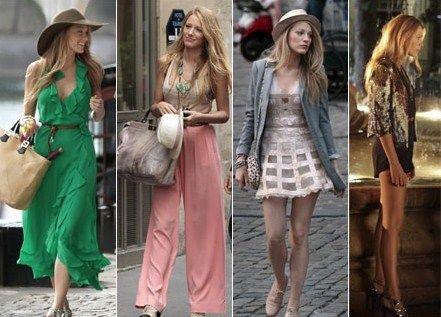 """La televisión está de """"moda"""" Gossip Girl - Serena Van der Woodsen"""