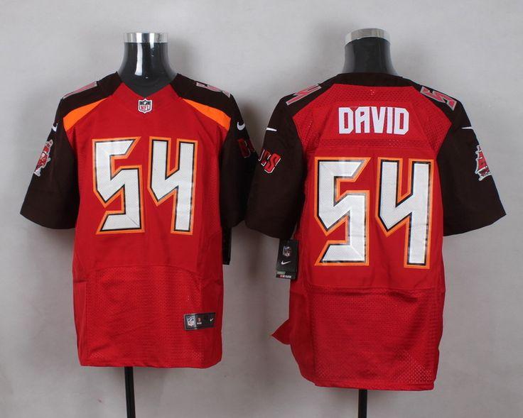 Men's NFL Tampa Bay Buccaneers #54 Lavonte David Red Elite Jersey