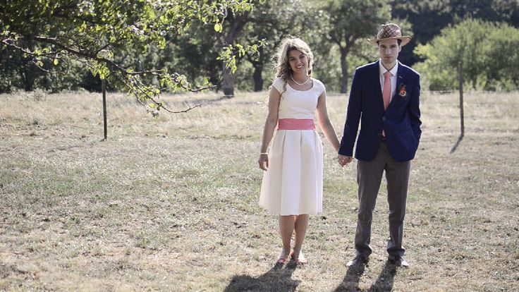 Bohemian, country wedding cinemagraph