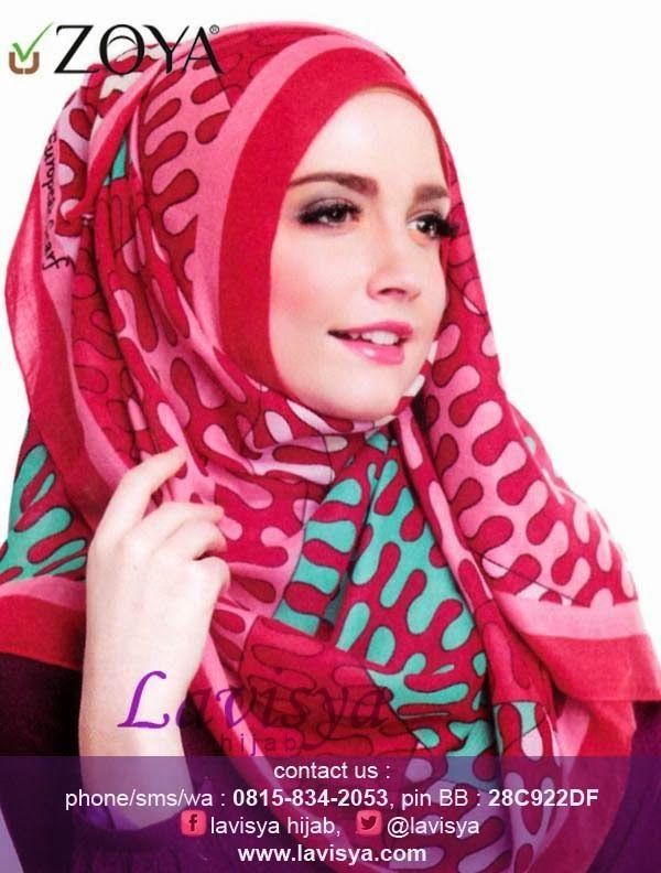 Lavisya Hijab: Zoya Kerudung Little Wave - Rp 79,000