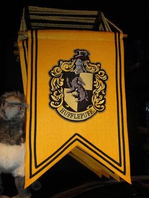 Wizarding World of Harry Potter Hufflepuff House Banner