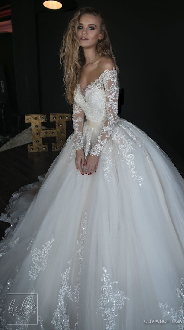 Princess Ball Gown Wedding Dresses For A Fairytale Wedding Belle The Magazine Off Shoulder Wedding Dress Lace Bridal Dresses Lace Off Shoulder Wedding Dress