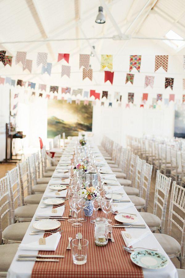 Humanist Scottish Wedding at Crear Flossy & Dossy Wedding Dress // Caroline Weiss Photography