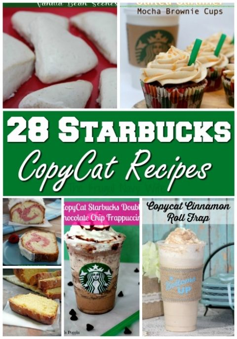 28 Copycat Starbucks Recipes