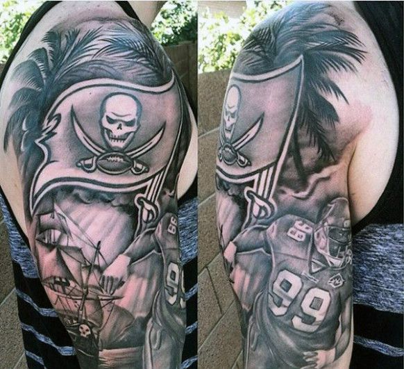 Seven Ways On How To Get The Most From This American Football Tattoo Ideas American Foot In 2020 Half Sleeve Tattoos Designs Tattoo Sleeve Designs Half Sleeve Tattoo