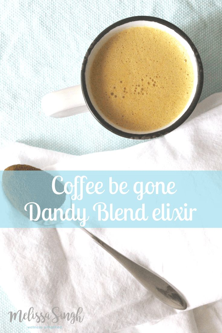Coffee Be Gone, Dandy Blend Elixir - Powered by @ultimaterecipe
