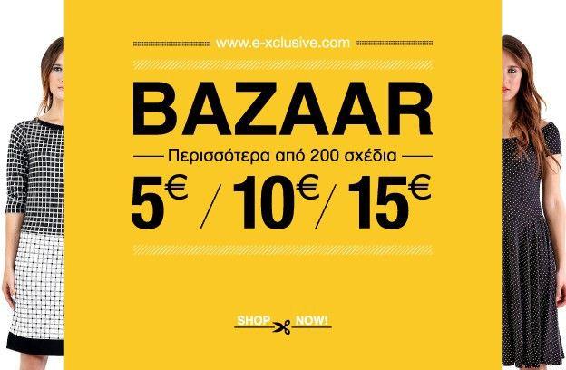 It's Bazaar time!