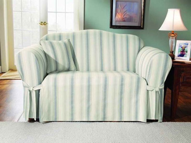 Furniture Blue Stripped Sofa Slipcovers Cheap Design Ideas Boppy Nursing Cover Wing Chair Slipcover Ikea Chairs Along